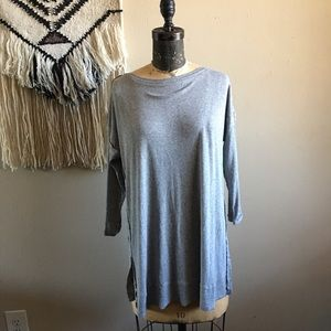 NEW Anthropologie Bordeaux Long Sleeve NWT